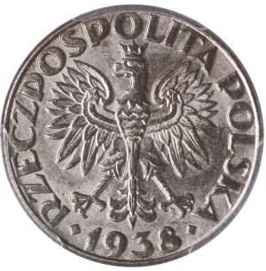 50 groszy 1938 niklowane PCGS MS62