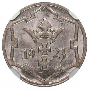 Wolne Miasto Gdańsk 5 fenigów 1923 NGC MS64