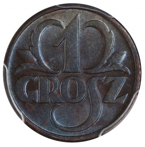 1 grosz 1939 PCGS MS63 BN