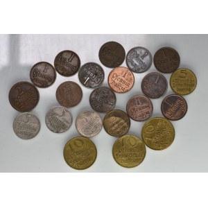 Wolne Miasto Gdańsk - Zestaw obiegowych monet