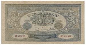 250.000 marek 1923 -CF- num. wąska rzadsza