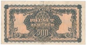 500 złotych 1944 obowiązkowe -BE-
