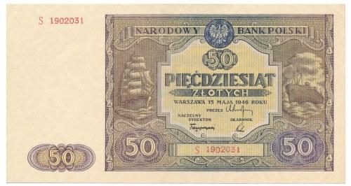 50 złotych 1946 -S-