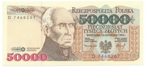 50 000 złotych 1993 -D-