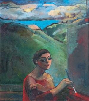 Anna Karpowicz - Westner, Mała malarka z chmurą