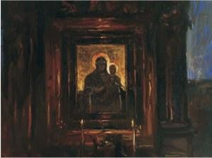 Józef Panfil, Ołtarz z cerkwi w Brunarach