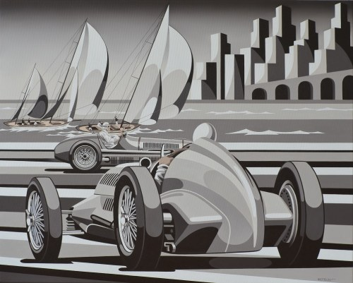 Tomasz Kostecki, Grand Prix Monaco, 2017