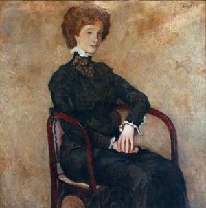 Kazimierz SICHULSKI (1879-1942), Portret młodej kobiety, 1909