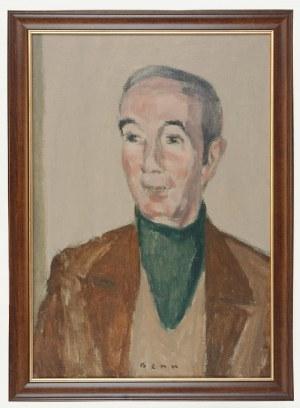 Bencion RABINOWICZ - BENN (1905-1989), Mężczyzna w zielonym golfie