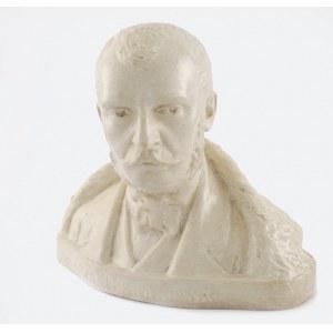 Jan RASZKA (1871-1945), Popiersie Zygmunta Krasińskiego