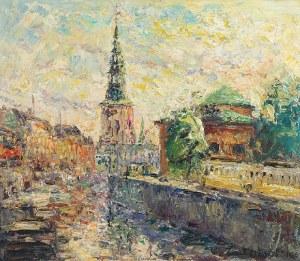 Włodzimierz ZAKRZEWSKI (1916-1992), Motyw miejski, 1964
