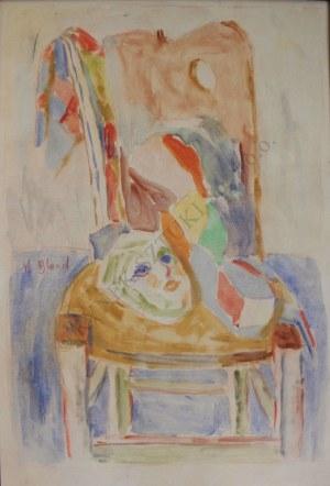 Maurice Blond (1899-1974), Maska na krześle