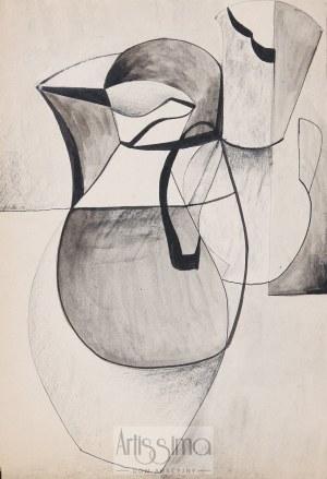 Urszula Broll (ur. 1930), Dzbanki, 1952