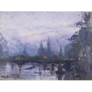 Stefan Domaradzki (1897–1983), Paryż – nokturn, 1929