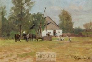 Walery Brochocki (1847–1923), Zagroda