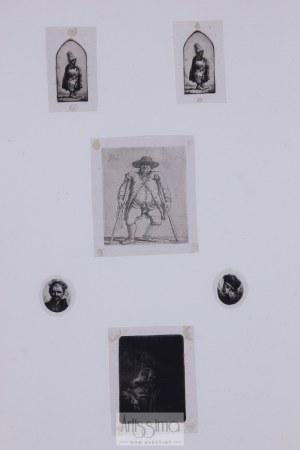 Jan Piotr Norblin de la Gourdaine (1745–1830), Sześć akwafort według Rembrandta