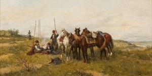 Ludwik Gędłek, Obóz kozaków