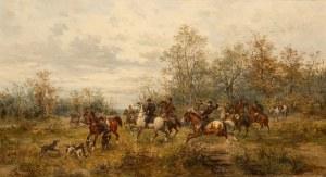Ludwik Gędłek, Polowanie, 1882