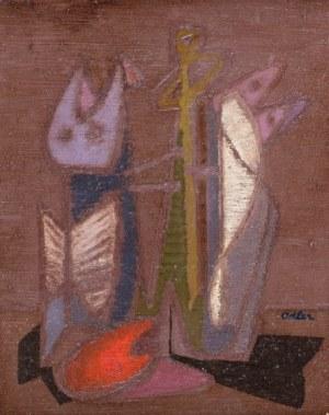 Jankiel Adler, Martwa natura, ok. 1943