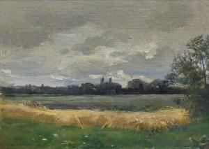 Stanisławski Jan, ZMIERZCH WIECZORNY (PRZED BURZĄ), OK. 1895