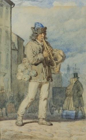 Gerson Wojciech, WĘDROWNY GRAJEK, SPRZEDAWCA GARNKÓW, 1860