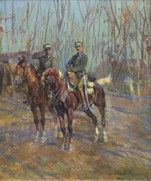 Wintorowski (Winterowski) Leonard, UŁANI NA ZWIADACH, 1919