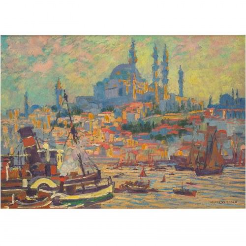 Henryk Uziembło (1879 – 1949), Zatoka w Konstantynopolu
