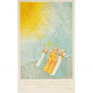 Bencion (Benn) Rabinowicz (1905 – 1989), Psalm XCV, ok. 1969