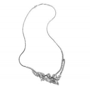 Naszyjnik z diamentami ~6.70ct wykonany ze złota
