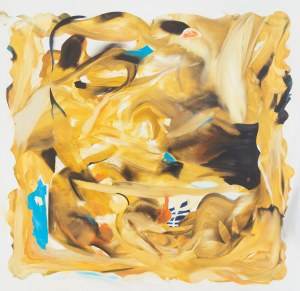 Dorota Pawiłowska (ur. 1987), How to paint gold without (having) gold, 2017