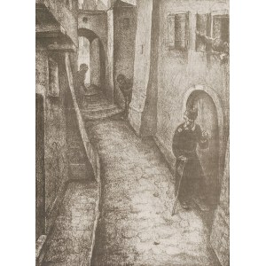 Wilhelm WACHTEL (1875-1942), Idylla sobotnia
