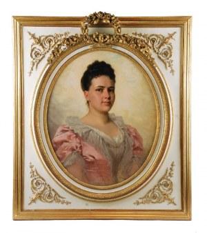 Władysław BAKAŁOWICZ (1833-1903), Portret damy