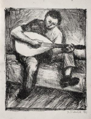 Stefan SUBERLAK (1928-1994), Gitarzysta, [1951]