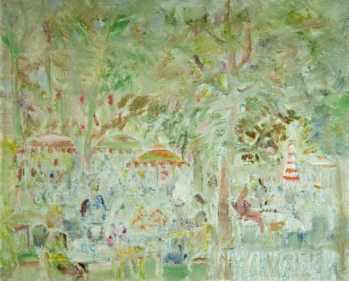 Henryk KRYCH (1905-1980), W kawiarni, [ok. 1977]