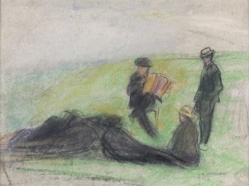 Artur MARKOWICZ (1872-1934), Spotkanie przy akordeonie