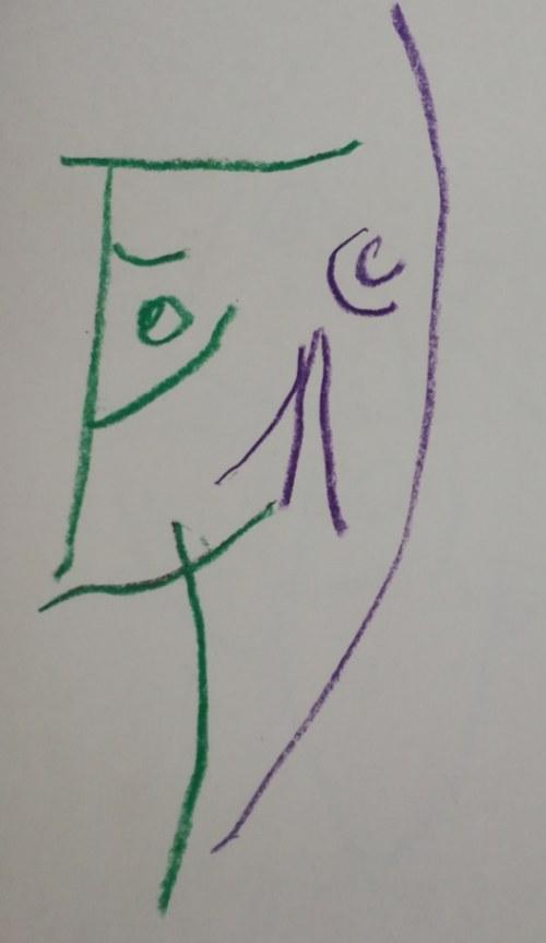 Jerzy PANEK (1918-2001), Autoportret 2/16, [1993]