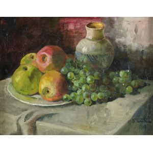 Michał STAŃKO (1901 – 1969), Martwa natura, [1957]