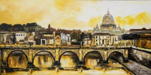 Łukasz Karcz (1981), Panorama Rzymu (2015)