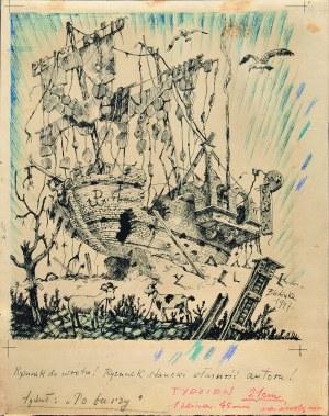 Bronisław Linke, Po burzy, 1947