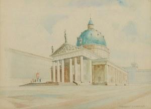 Franciszek SUNDERLAND, 1 poł. XX w., Kościół na placu