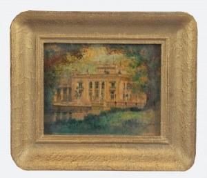 Marian PUCHALSKI (1912-1970), Pałac na Wodzie w Łazienkach Królewskich