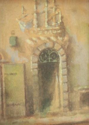 Marian PUCHALSKI (1912-1970), Kamienica pod Okrętem