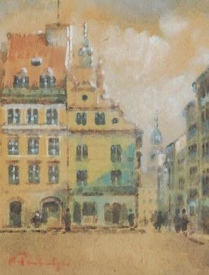 Marian PUCHALSKI (1912-1970), Rynek Starego Miasta w Warszawie