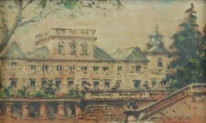 Marian PUCHALSKI (1912-1970), Pałac w Wilanowie