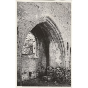 GUBIN. Fotografia przedstawia kaplicę boczną, wykon. T. Zalewski, ok ...