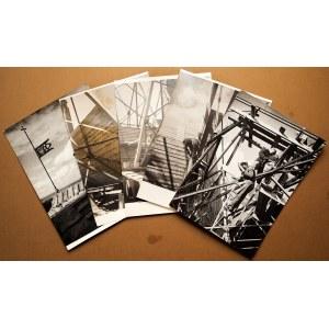 GDAŃSK. Bazylika Mariacka – zestaw 5 fot. dokumentujących odbudow