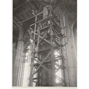 GDAŃSK. Bazylika Mariacka, fot. K. Lelewicz, Gdańsk-Wrzeszcz 1948; n ...