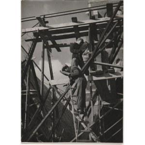 GDAŃSK. Bazylika Mariacka, fot. K. Lelewicz, Gdańsk-Wrzeszcz 1949; n ...