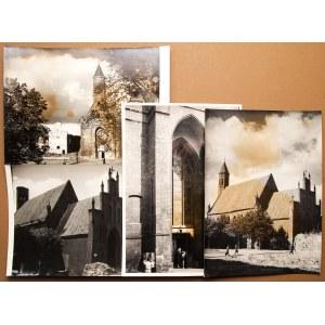 GDAŃSK. Kościół św. Elżbiety – zestaw 4 fot. przedstawiającyc ...