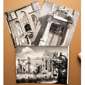 GDAŃSK. Kościół św. Józefa – zestaw 3 fot. przedstawiających  ...